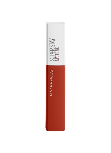 Maybelline Maybelline New York Super Stay Matte Ink City Edition Likit Mat Ruj - 117 Ground-Breaker Kırmızı